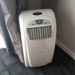 The very noisy air conditioning unit
