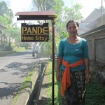 lovely Made, the heart of the Pande Homestay family. always kind and smiling :-)