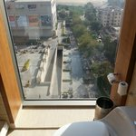 View from window next to WC in Bathroom