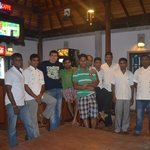 friendly staff of Panchi Villa,January 2014