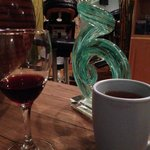 Wine and Tea in Relaxation Room