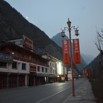 Pengfeng is one of many small villages and hotels all close together down through the Jiuzhagou