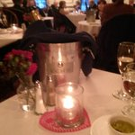 Sparkling wine and bucket