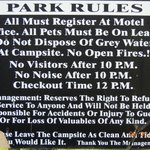 100 Mile Motel and RV Park resmi