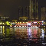 River Boats at Night