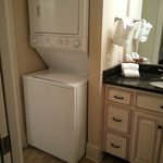 Washer & dryer included in the room - 306