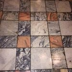 Original restored marble floors