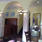 Entrance to the lobby. All hallways are freshly painted with new carpet.