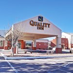 Quality Inn Main Entrance