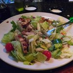 Really Large Grilled Chicken Salad!