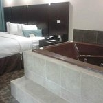 tub in the room