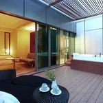 Oasis Suite - Outdoor Jacuzzi
