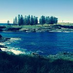 Azure sea at kiama
