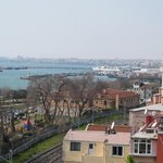 View of Marmara Sea from the Balcony