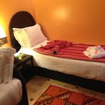 fresh rose petals on your bed every day, clean cosy, rooms have a safe in them. Good wifi connec