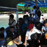 Boat to Gili Islands