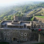 Dover Castle - just up the hill