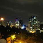 Night view of city - gorgeous (bit blurry)