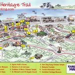 Map of the Heritage Trail