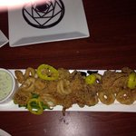 Calamari are out of this world!!!