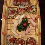 Sushi Bridge - Scooby Snack, Godzilla Roll, White Fish & Yellowtail