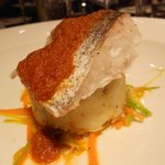Hake mains at Aspects Restaurant