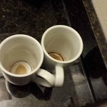 Dirty Coffee Cups left in Room