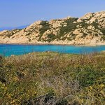 Trekking along the coast: Monti Russu Beach from south