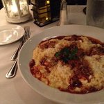 risotto al caprino... goat cheese risotto!!