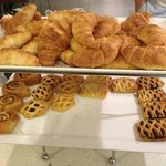 pastries come out warm, chocolate was my favorite!