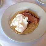Alison House Special breakfast - with oatcake