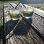 Mojitos in the sun