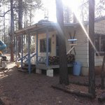 Cabin #5 next to the playground