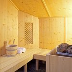 Sauna der Wellness-Suite