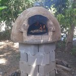 wood burning oven at jeffry's