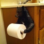 Best bear-related toilet-paper-holder I've ever seen.