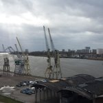 View from the Red Star building across the Scheldt river