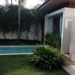 pool and Bedroom 1