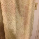 stained drapes