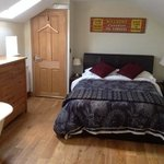 refurbished double en suite room