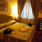 My room at the Forus Inn  Rome Italy