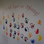 Hand Prints on the Wall