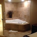 Awesome jacuzzi suite