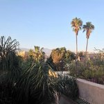 View across Taroudant from roof terrace