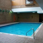 The pool is usually fairly quiet, and a great feature for a mid-priced hotel
