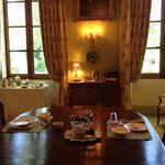 Breakfast for two at Domaine Le Vallon