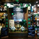 Getting ready for St Patricks Day