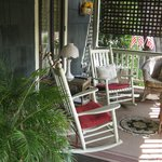 Cool and Relaxing Front Porch