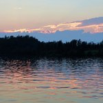 Twilight on Gunflint Lake - beautiful!