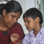 Leena and son
